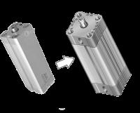 Siłownik kompaktowy zamiennik FESTO: ADN-25-80-I-P-A Schirmer BAZ