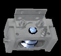 Urban SV530. Wózek obrotu (po stalowej prowadnicy) głowicy narzędziowej w oczyszczarce. Zestaw naprawczy / całość